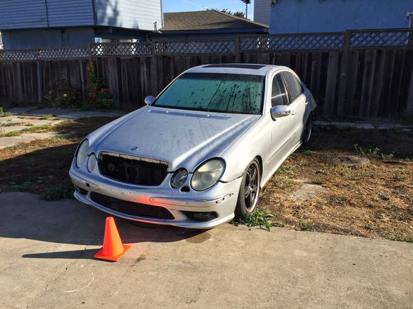 Mercedes e55 amg w211 parting out auto part for Sale in Pacifica, CA -  OfferUp