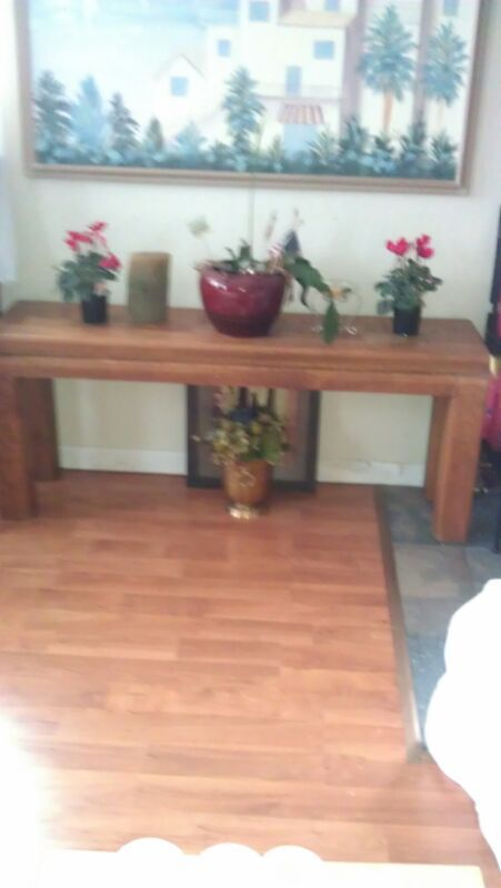 Buffet/entry table or bench