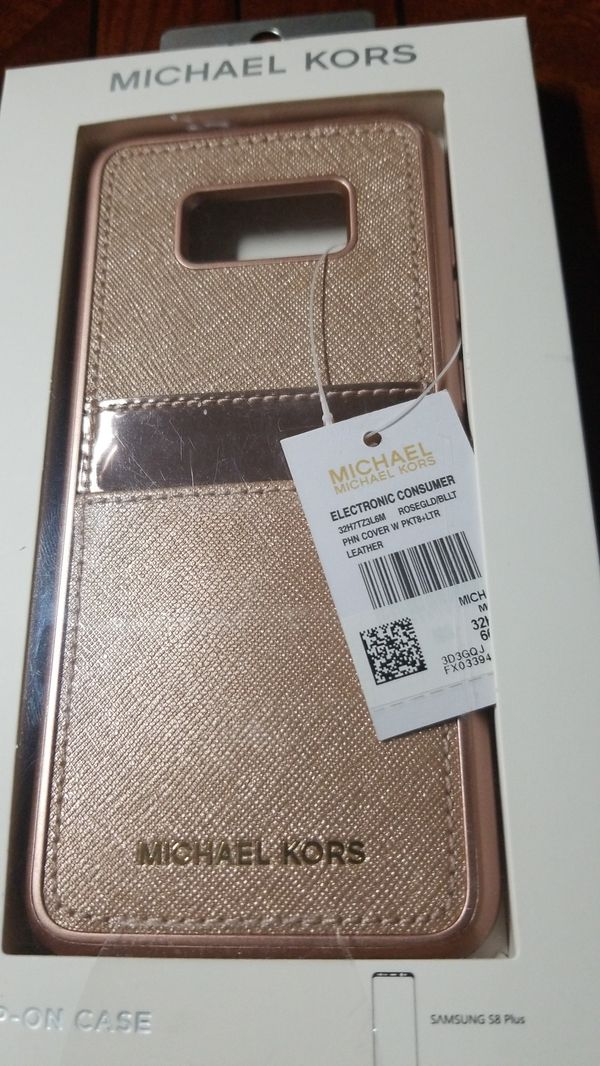 buy popular 08c87 183a6 Michael Kors Samsung S8 plus phone case, Gold in color. for Sale in Sugar  Land, TX - OfferUp