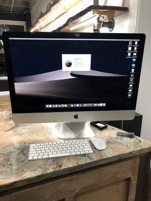 iMac Retina 5K 27-inch, Late 2015 (AppleCare Protection Until 2020) for Sale in Sudley Springs, VA