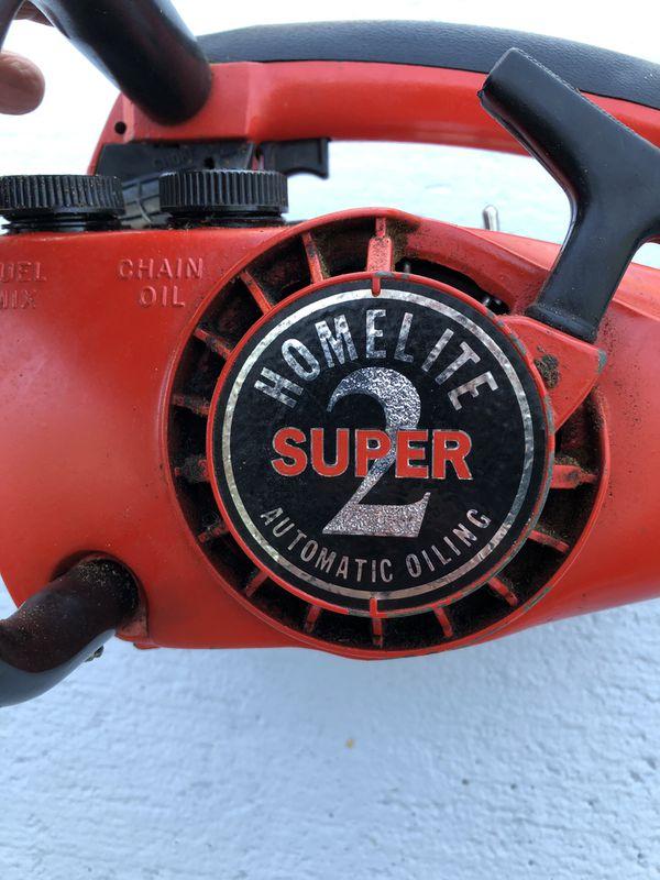 "Homelite Super 2 12"" chainsaw - make offer    for Sale in Hobe Sound, FL -  OfferUp"