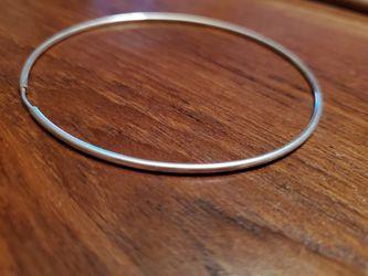 925 Silver Hoop Earrings Thumbnail