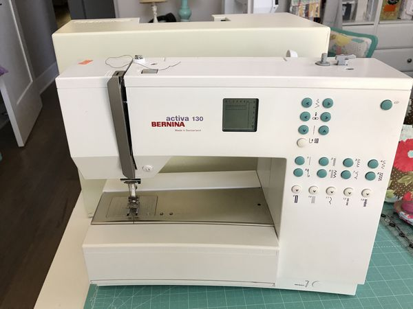 BERNINA ACTIVA 40 SEWING MACHINE For Sale In Hillsboro OR OfferUp Unique Bernina Activa 130 Sewing Machine
