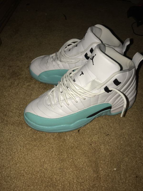 new concept 87028 b82c8 Light aqua Jordan 12 for Sale in Washington, DC - OfferUp
