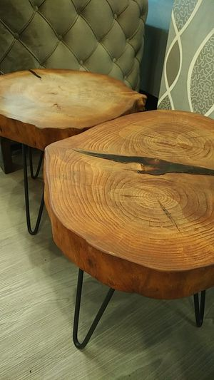Live edge side tables for Sale in Washington, DC