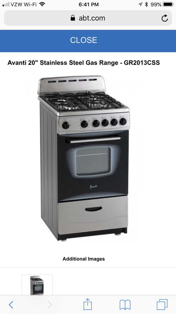 Brand New Avanti Gas Stove For Sale In Las Vegas NV OfferUp - Abt gas ranges