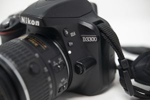 Nikon D3300 DSLR 24.2 MP HD 1080p Camera With 18-55mm for Sale in Lynchburg, VA