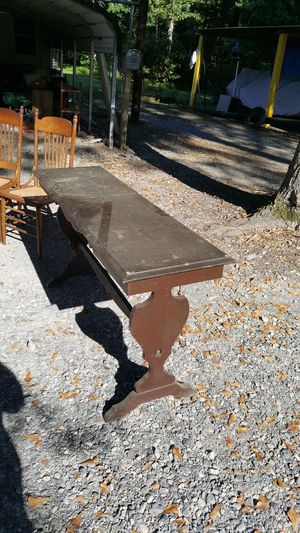 Long azz sofa table/hall table for Sale in Apex, NC