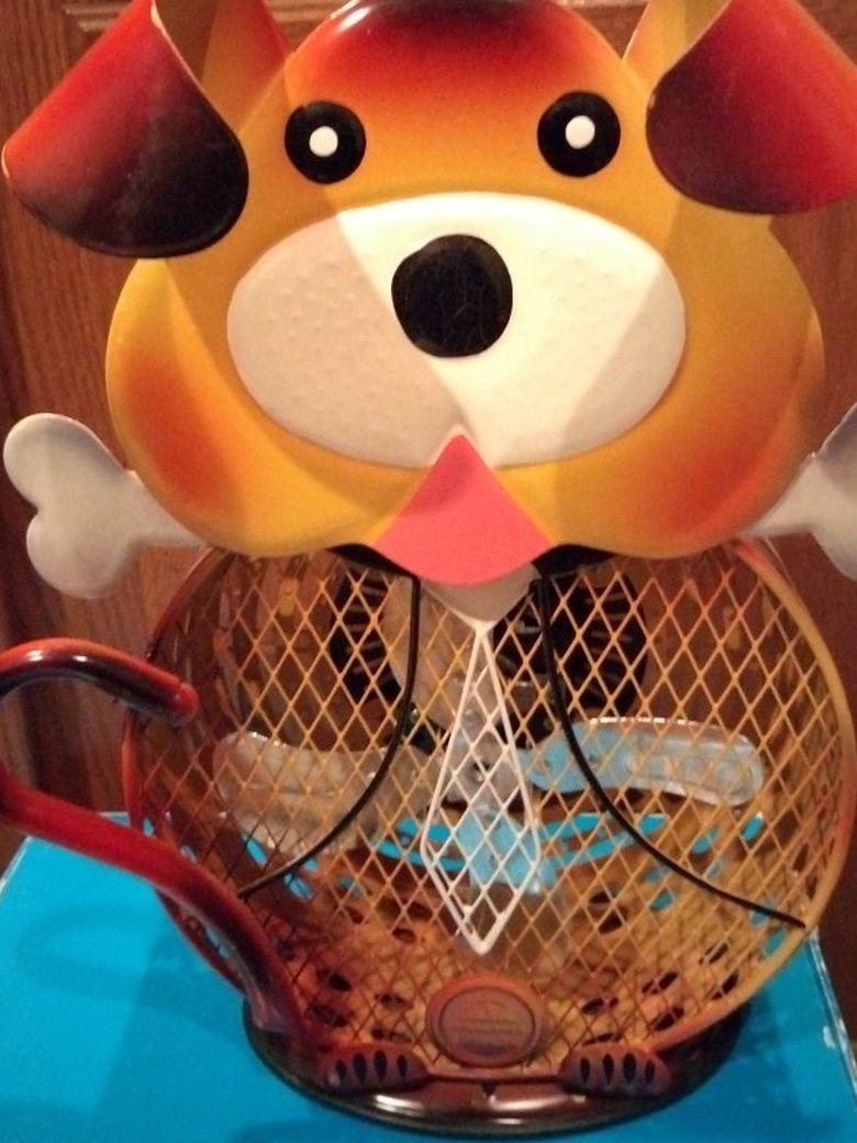 Adorable Teddy Bear Fan