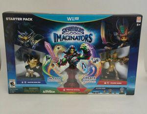 Nintendo Wii U Skylanders Imaginators Starter Pack for Sale in Hanford, CA