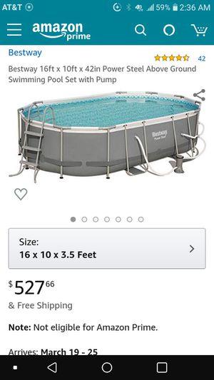 Photo Bestway above ground pool
