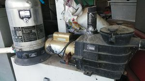 Swimming pool and spa filter and hatward pump for Sale in Sacramento, CA