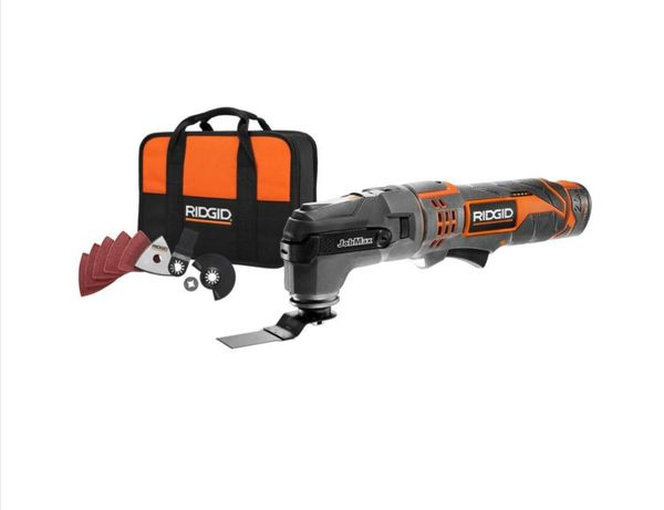 RIGID JobMax 12 Volt Multi Tool With Free Head