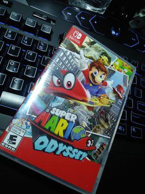 Nintendo Switch Mario Odyssey for Sale in Apopka, FL