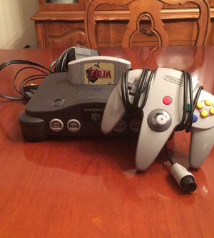 Nintendo 64 Bundle with Ocarina of Time for Sale in Fort Howard, MD