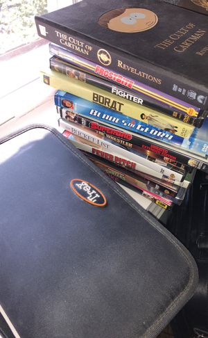 Lot of guy and classic movie DVDs over 70 for Sale in Washington, DC