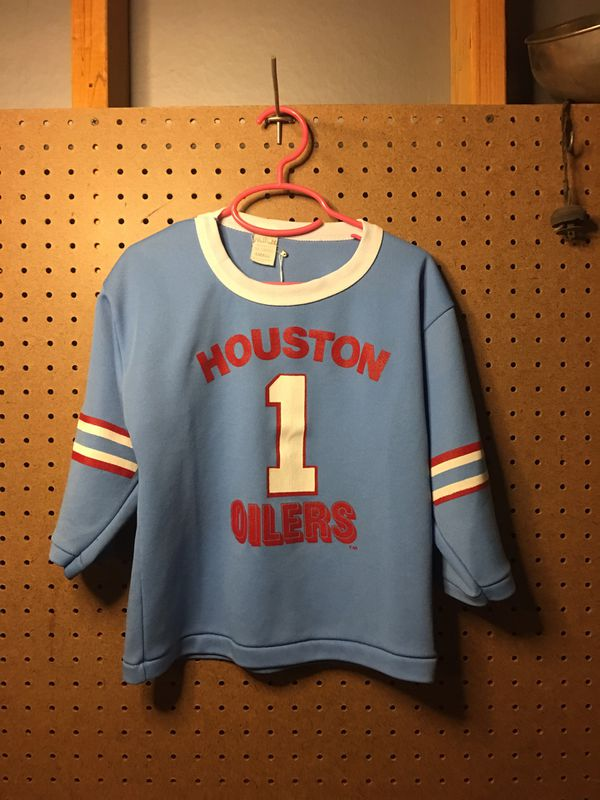 eb8b3069f VINTAGE HOUSTON OILERS JERSEY for Sale in San Antonio, TX - OfferUp