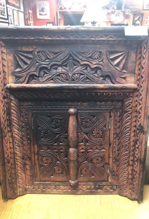 Antique Carved Wooden Mirror Shutters For In Saint Petersburg Fl