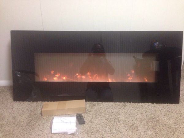 Tremendous Grand Aspirations Electric Flat Panel Fireplace Heater Model Number Wm50B Ws G 01 For Sale In West Valley City Ut Offerup Home Interior And Landscaping Ponolsignezvosmurscom