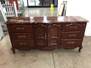 Dresser in fair conditions (FIXER UPPER) $80 for Sale in Gaithersburg, MD