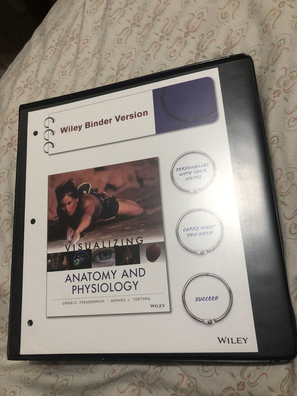 Visualizing Anatomy and physiology (Wiley Binder Version) for Sale ...