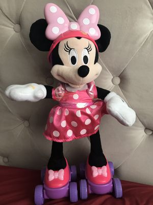 "Disney Super Roller-Skating Minnie Mouse Works Singing And Dancing 17"" for Sale in Sykesville, MD"