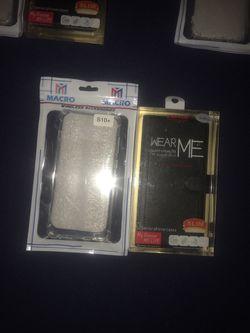 S10, s10 lite, s10+ carteras, protectores para teléfonos Thumbnail