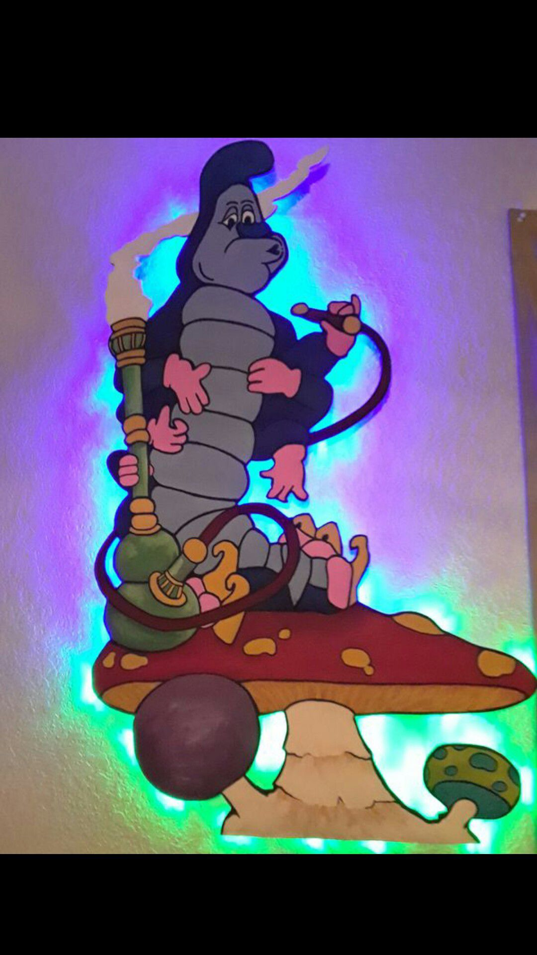 Alice in Wonderland Light Up Wall Art