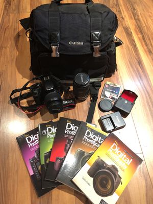 Canon Rebel XSI camera with extras for Sale in Berryville, VA