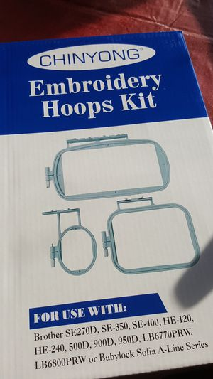 Embroidery hoops kit for Sale in Fort Belvoir, VA