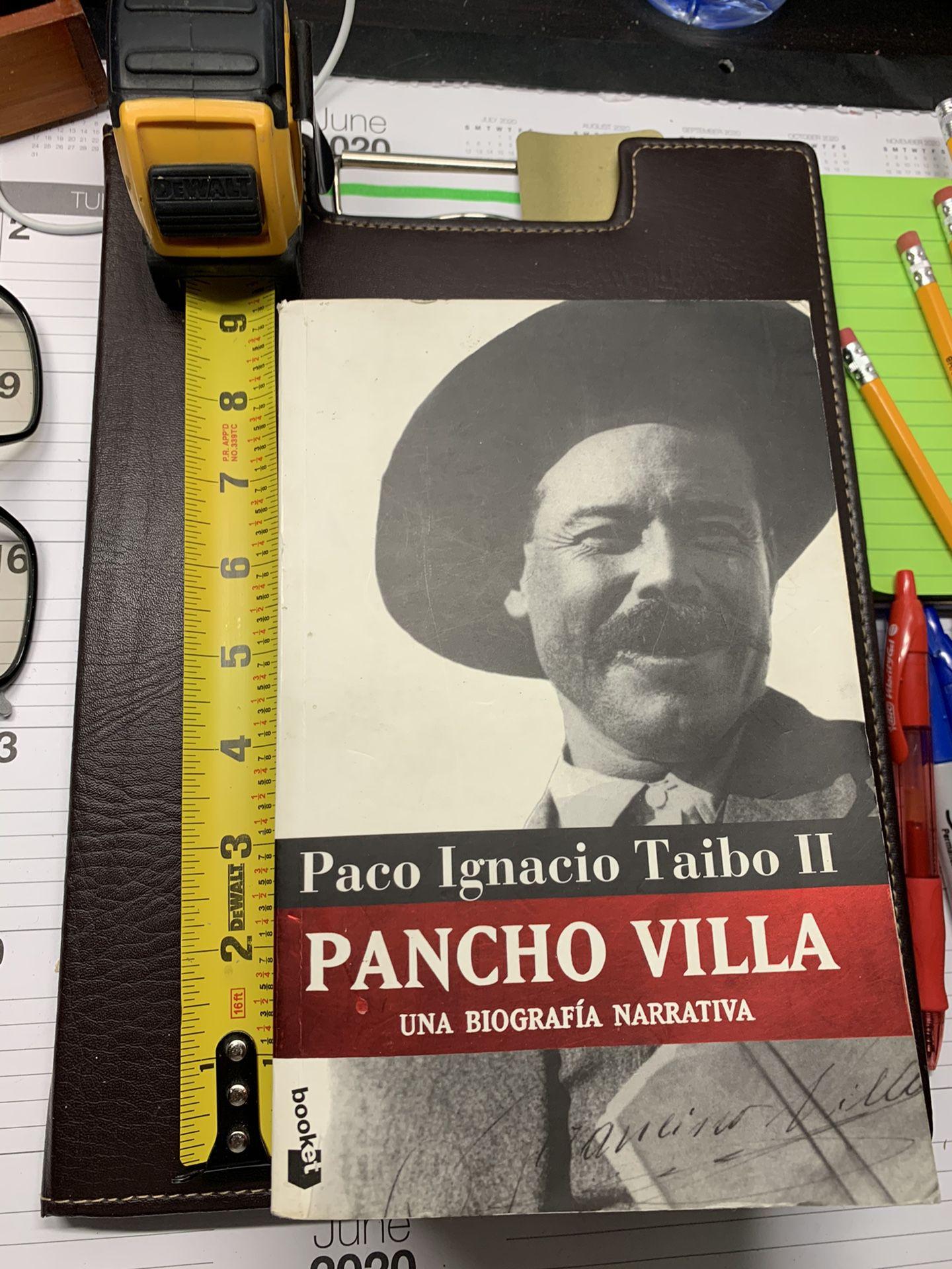 Pancho Villa. Paco I. Taibo II.