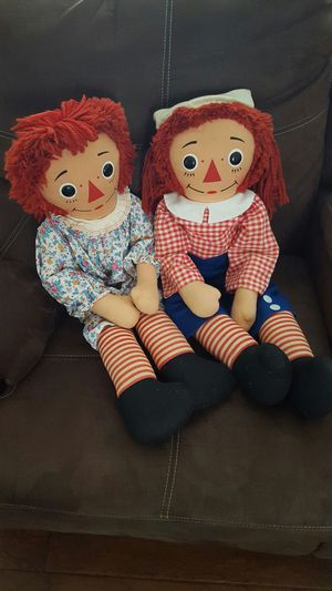 Raggedy Ann and Andy for Sale in Cleveland, OH