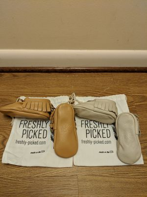 Freshly picked moccasins for Sale in Rockville, MD