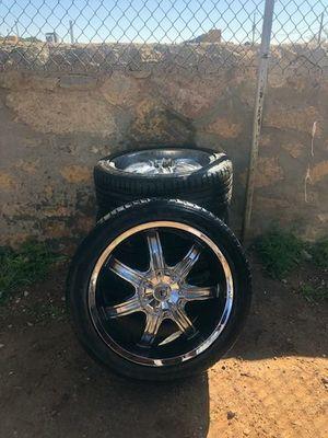 Photo 20 Goodyear tires with universal 6 lug wheels