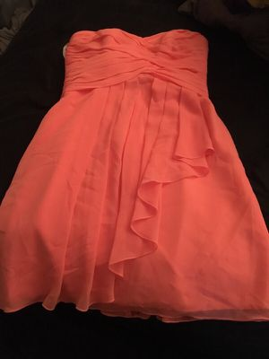 CORAL BRIDESMAID DRESS for Sale in Scottsdale, AZ
