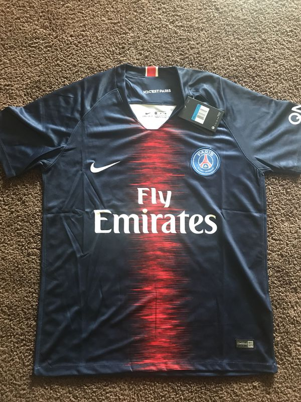 premium selection 7aeae 51580 PSG soccer Jersey for Sale in Fremont, CA - OfferUp