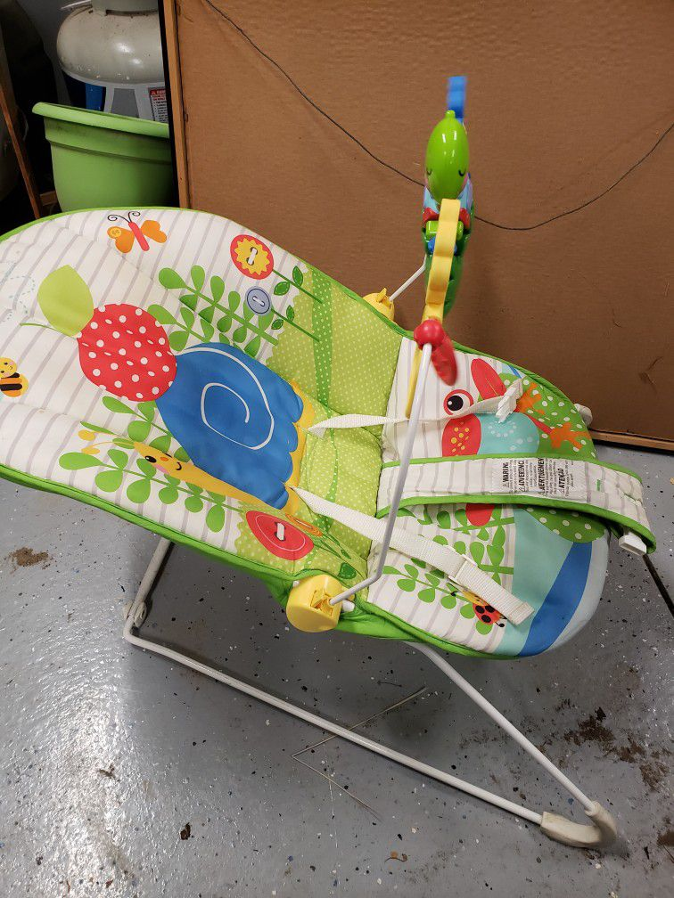 Infant Toddler Vibrating Baby Rocking Bouncer Seat Chair