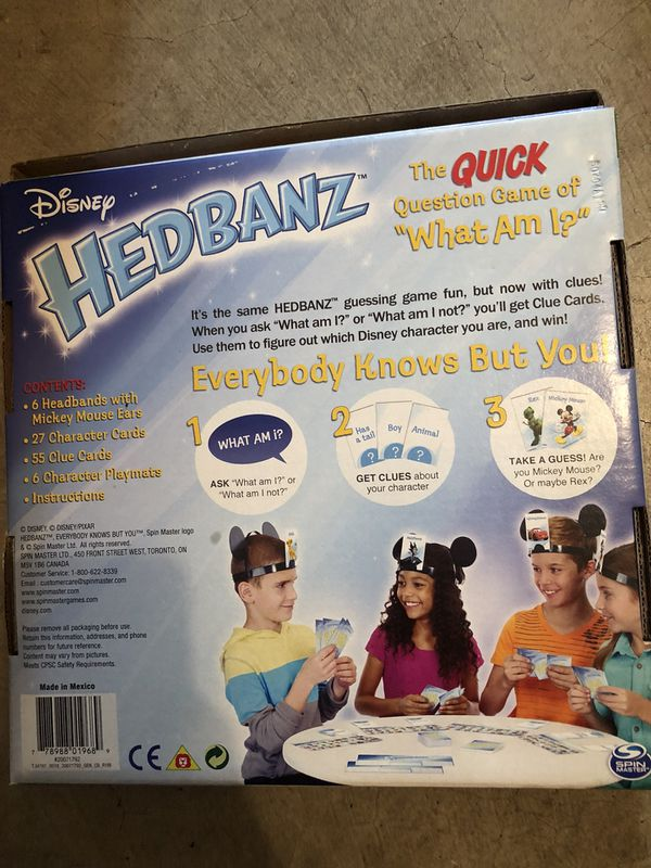 Disney Hedbanz Game For Sale In Troutdale Or Offerup