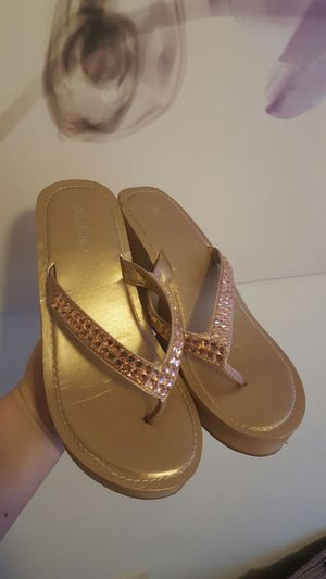 Golden Rose Sandals for Sale in Baltimore, MD