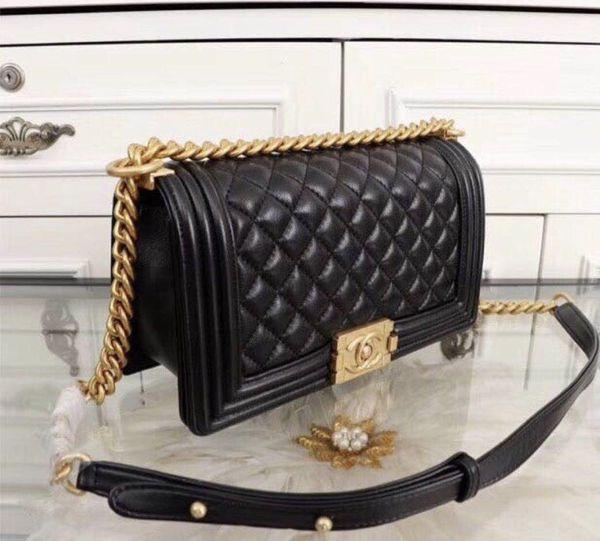 fc4f19b6c5f9e Chanel Black Calfskin Boy Bag for Sale in San Leandro