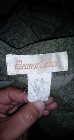 Eleanor Colton full length wrap skirt sz 16 Thumbnail