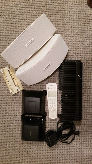 Bose Outdoor Speakers with Amp and Link for Sale in McLean, VA