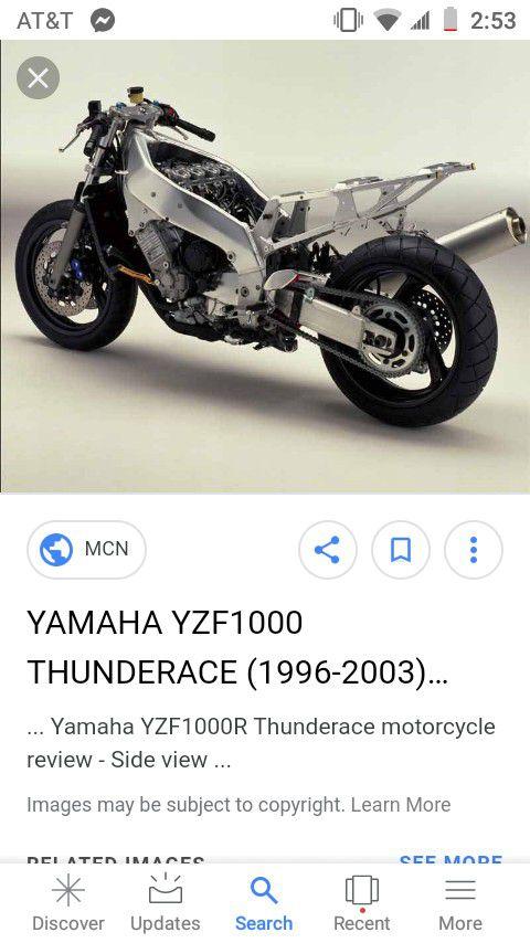 1997 yamaha yzf 1000