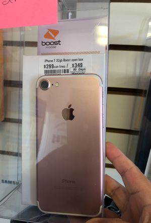 iPhone 7 Boost Mobile 32GB *No checamos mensajes for Sale in Arlington, VA