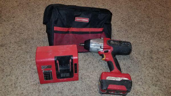 Craftsman Cordless Impact Wrench