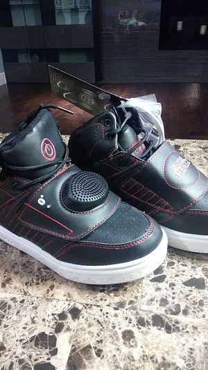 Kids Sneakers(size 3) with Bluetooth speakers for Sale in Altamonte Springs, FL