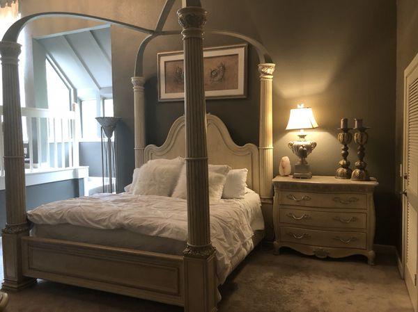 henredon visage collection king size 4 pc bedroom set for sale in