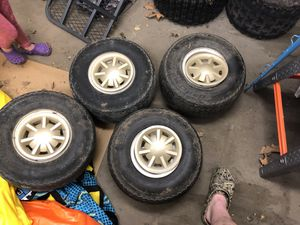 Golf cart wheels and tires for Sale in WV, US