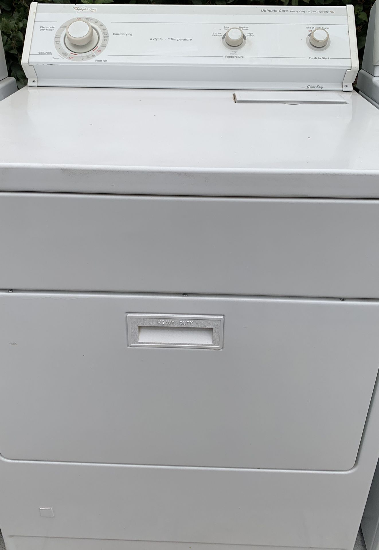 💳 WHIRLPOOL GOLD GAS DRYER free delivery installation and warranty