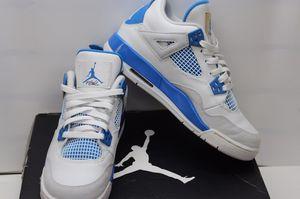 176aa657f03db8 Nike Air Jordan Retro 4 IV Military Blue Size 6Y for Sale in Boca Raton